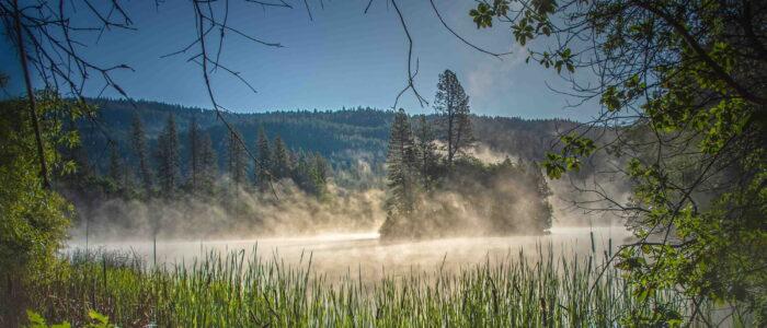 Lake Francis Fog - Jonathan Beth
